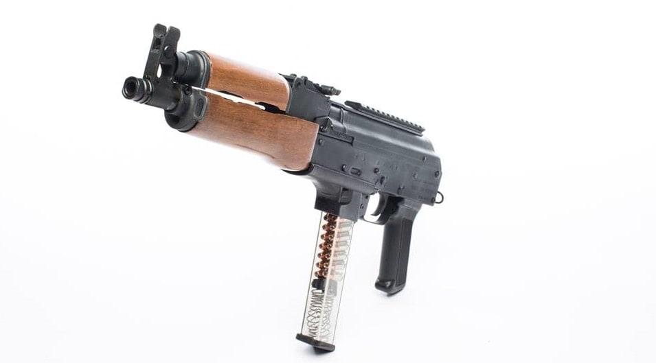 Century has 9mm AK pistol that takes Glock mags inbound