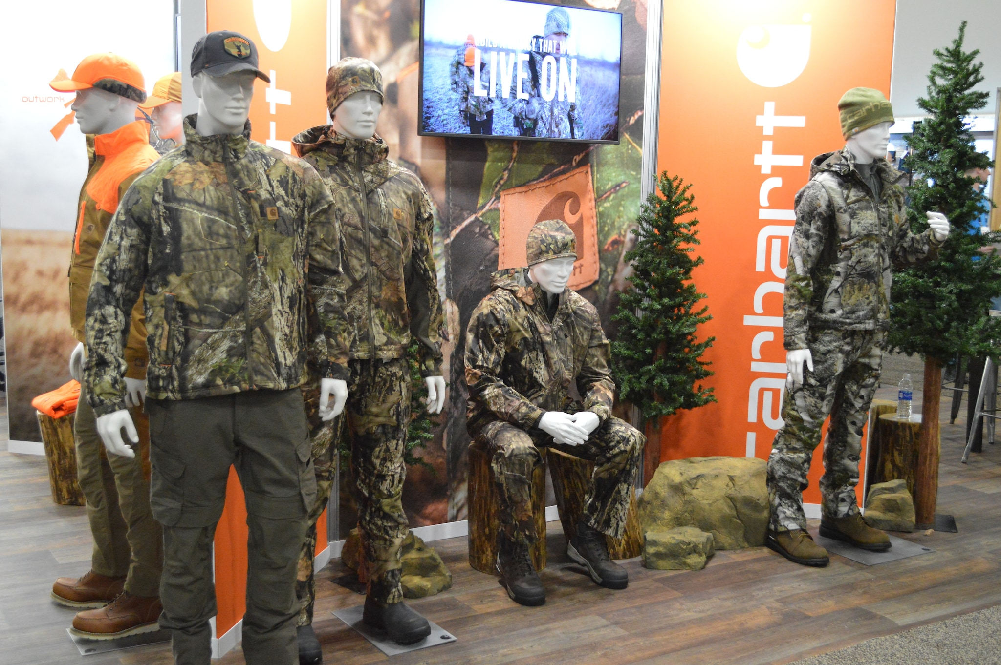 Longtime hunting powerhouse camo company Mossy Oak has teamed up with the ultra-durable clothier Carhartt to produce a full line of hunting wear in a variety of patterns. (Photo: Kristin Alberts/Guns.com)