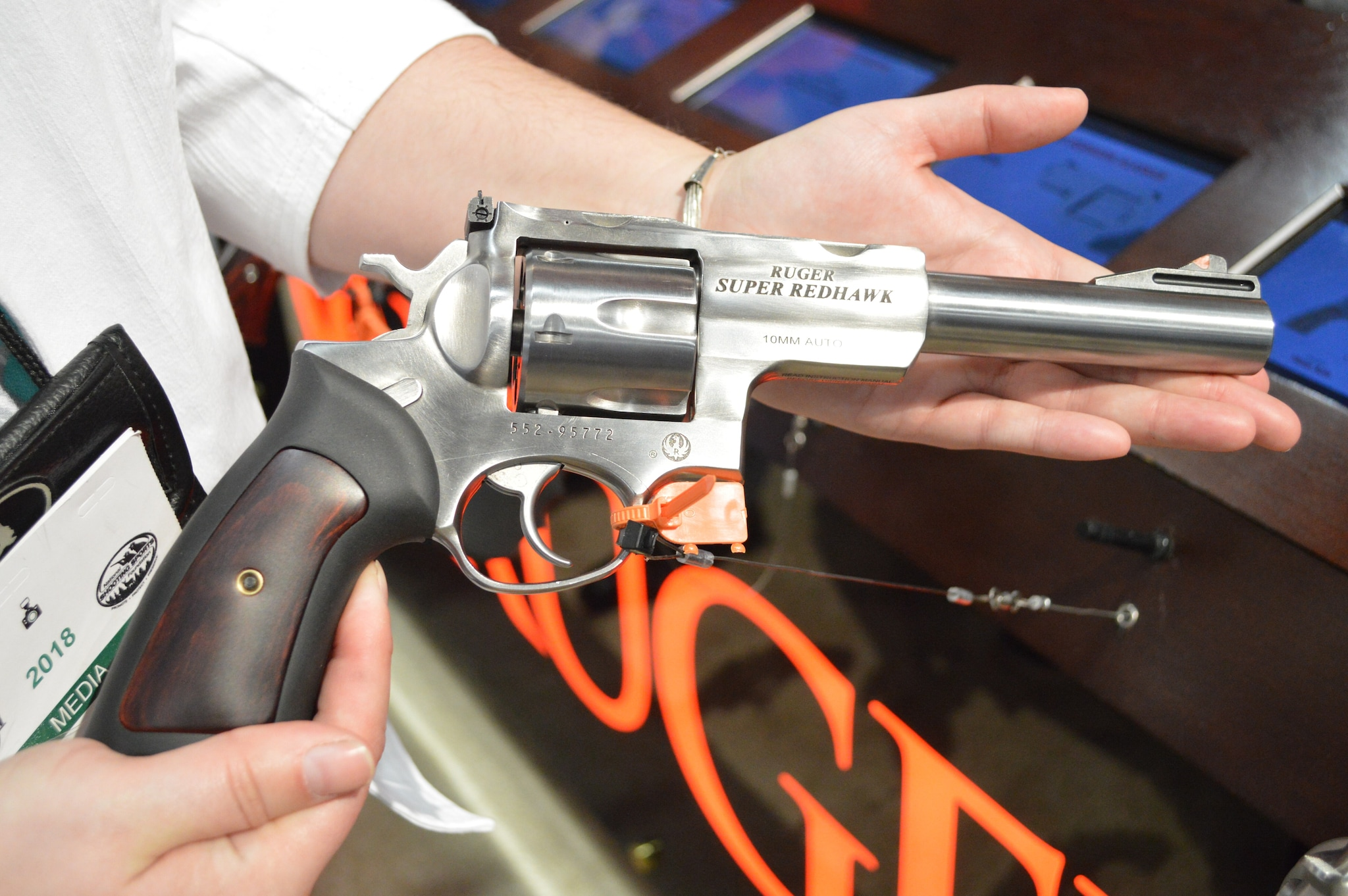 Hunting handguns are hotter now than ever before, especially in the 10mm chambering. Ruger is the first to the table with a hunting specific revolver with their Super Redhawk 10mm. (Photo: Kristin Alberts/Guns.com)