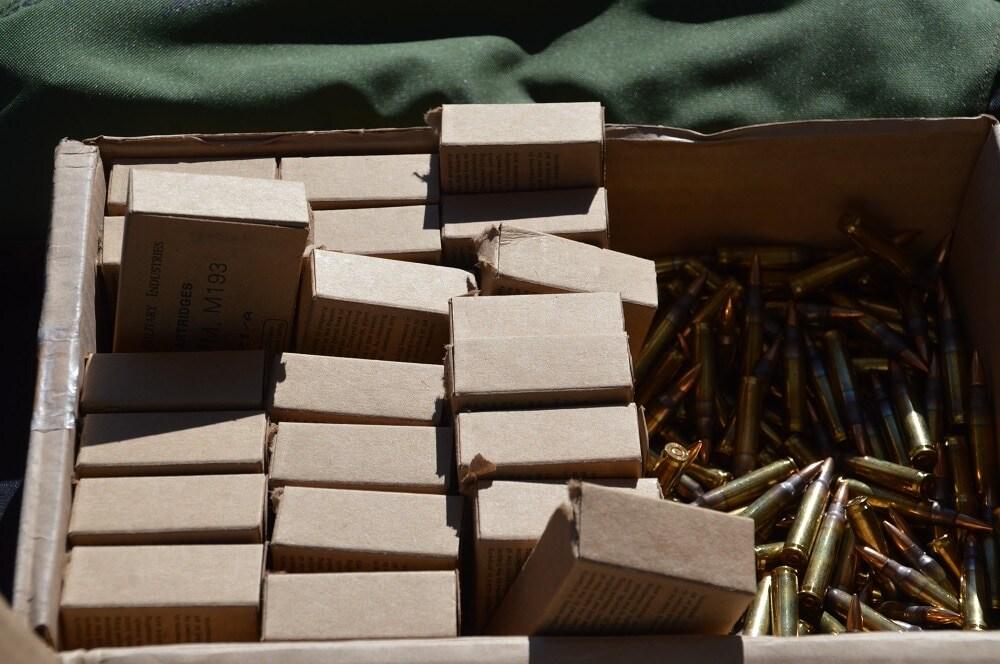Gotta love M193 when it is stacked deep (Photo: Chris Eger/Guns.com)