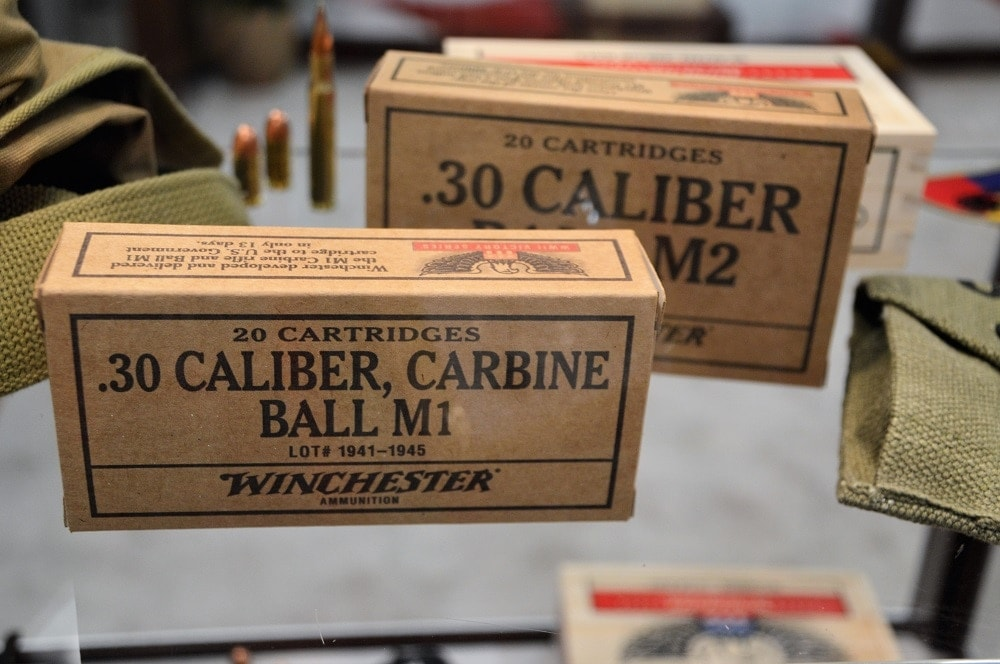 Winchester's Victory series, set to be released over this year and next, is loaded to WWII-era specifications and comes in special packaging. (Photos: Chris Eger/Guns.com)