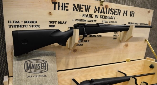 """The new M18 blends """"Das Original"""" Mauser action with an adjustable trigger, modern polymer stock and chamberings to include 6.5 Creedmoor (Photos: Chris Eger/Guns.com)"""
