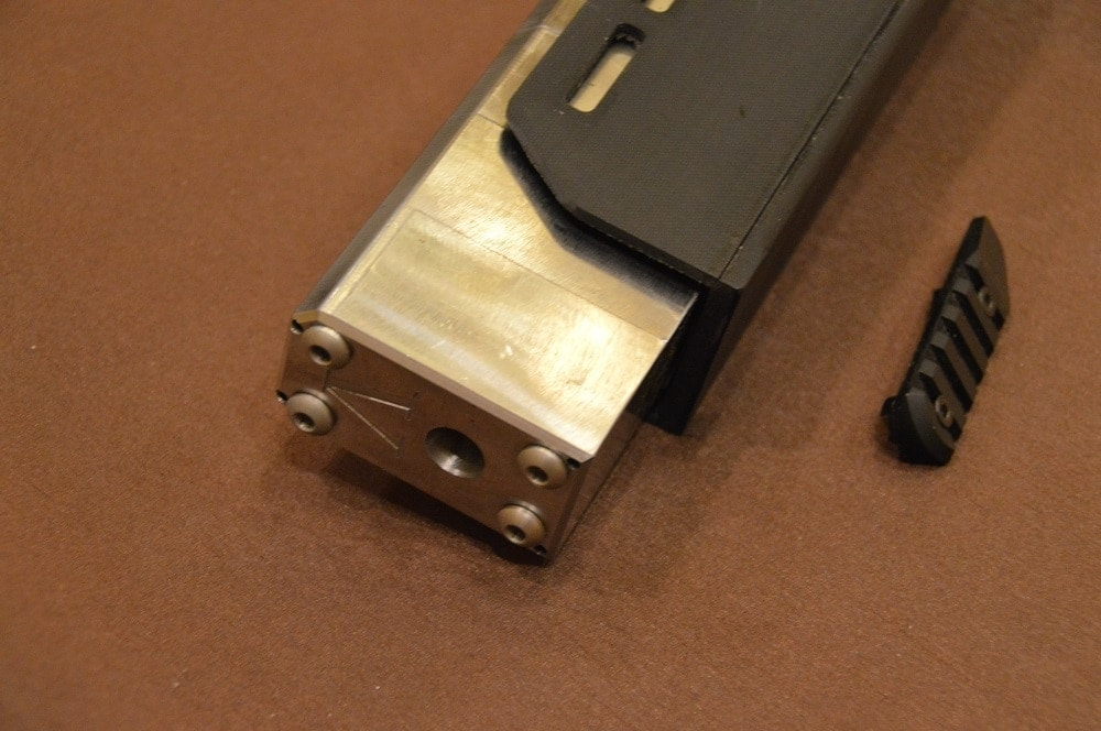 ...as well as Magpul M-LOK slots, which will be more liberally applied on production models.