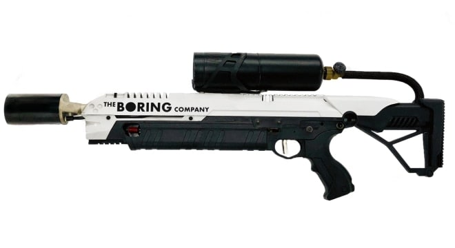 While details are sketchy, apparently 7,000 Boring flamethrowers were sold this weekend. (Photo: Boring)