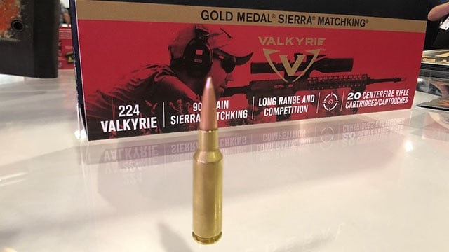.224 Valkyrie has a flat trajectory and range out to 1,300 yards (Photo: Jacki Billings)