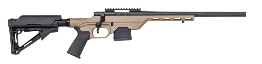 The MVP Light Chassis Rifle has been expanded, along with a host of other rifles, with 6.5 Creedmoor chamberings. (Photo: Mossberg)