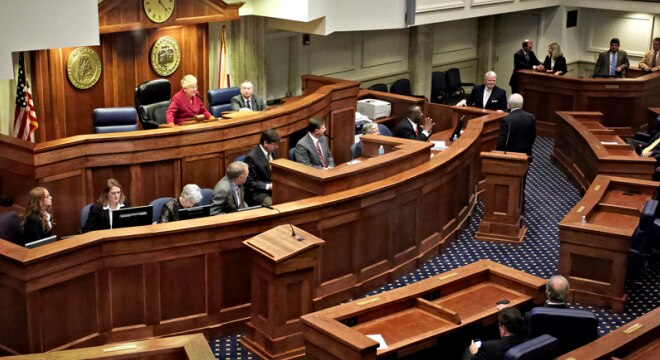 The Alabama Senate last year passed a bill 25-8 a bill eliminating the requirement for a permit from a county sheriff to carry a concealed handgun, and another push is on this year. (Photo: AL Senate)