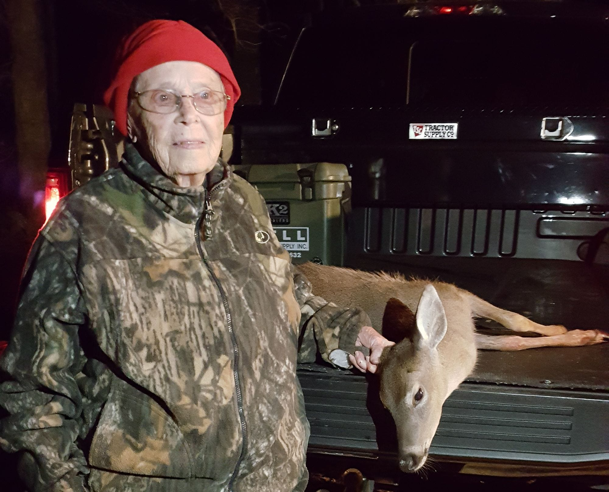"""""""I don't know why everybody is making such a big deal about it,"""" Vickers said. """"If I'd killed a big buck I could see it, but it was just a doe."""""""