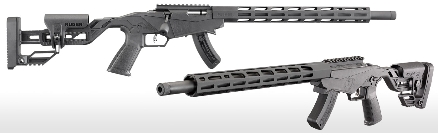 The feature-heavy Ruger Precision Rimfire rifle can either serve as a trainer before moving up to a larger caliber or as a standalone small bore match rifle. (Photos: Ruger)