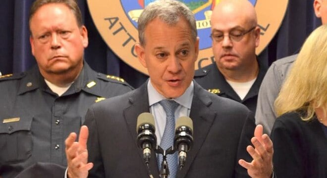 "New York Attorney General Eric Schneiderman described the victory by the state a a win for ""common sense"" gun laws. (Photo: NYAG's office)"