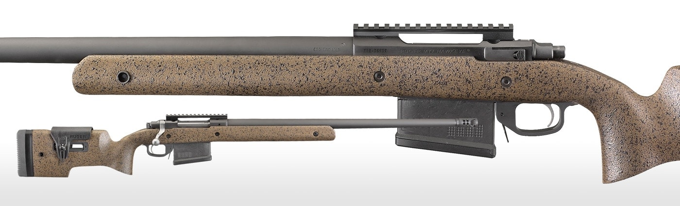 Ruger's latest M77 bolt gun is the Hawkeye Long-Range Target (Photo: Ruger)