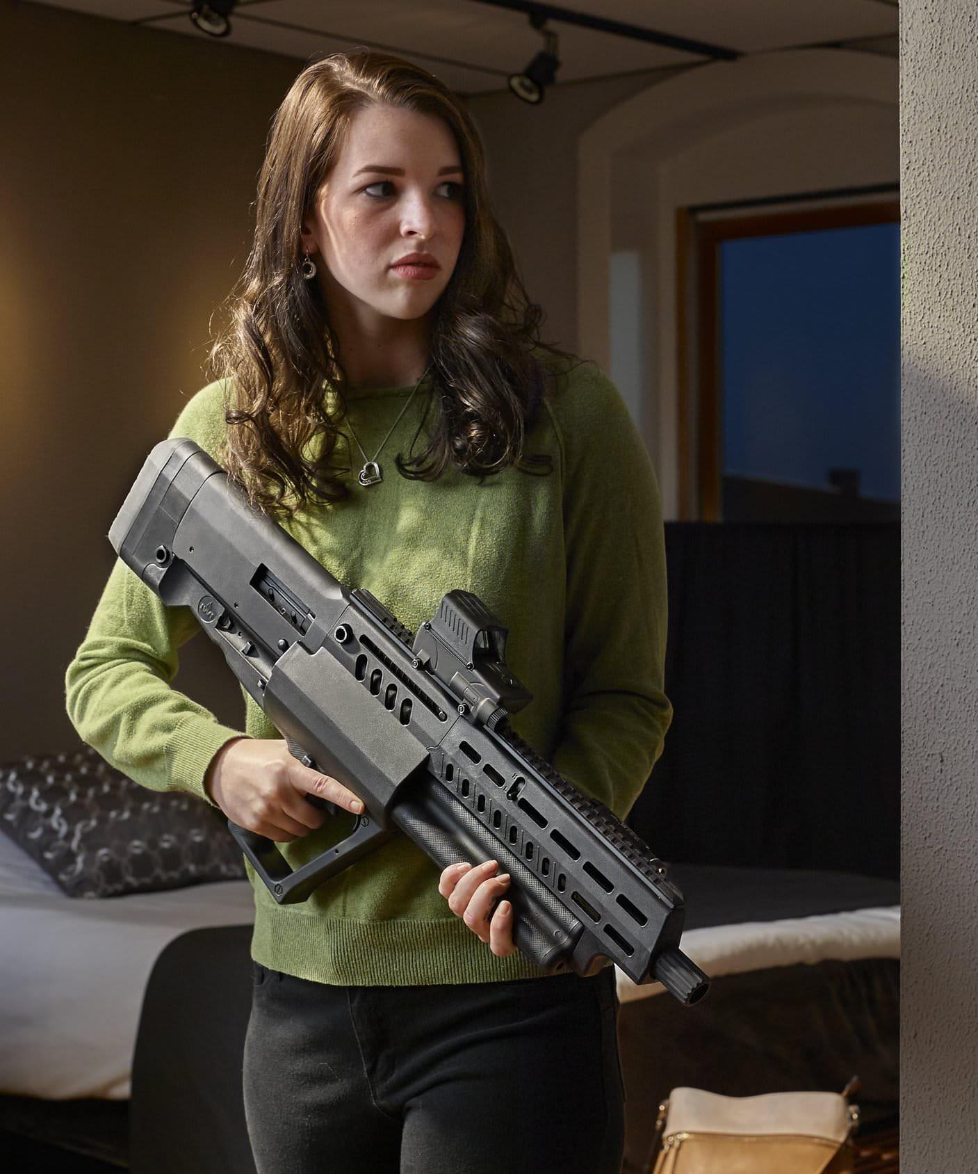 TAVOR TS12 bullpup shotgun 2