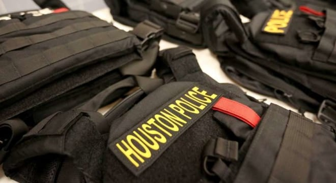 Grant money for $23 million worth of ballistic vests designed to protect against rifle fire is on the way to departments across Texas. (Photo: Yi-Chin Lee/Houston Chronicle)