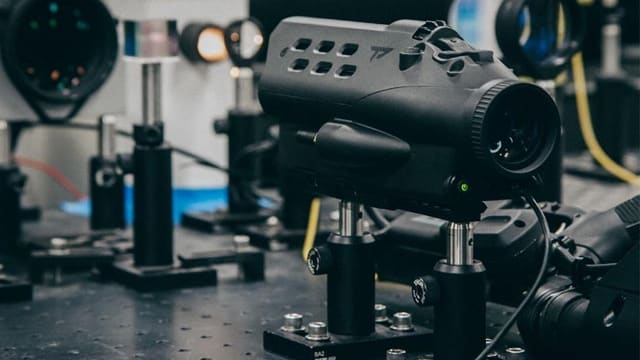 TrackingPoint aligning one of its scopes. (Photo: TrackingPoint/Facebook)