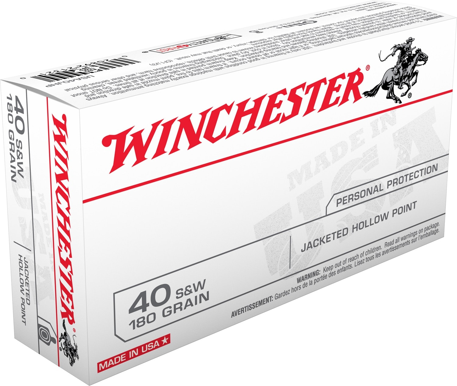The FBI will receive many of these boxes -- $16 millions worth. (Photo: Winchester Ammunition)
