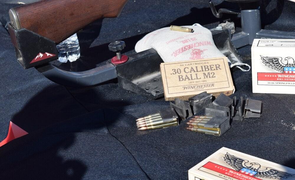 Winchester's making .30-caliber ball ammo for M2 carbines. (Photo: Daniel Terrill/Guns.com)