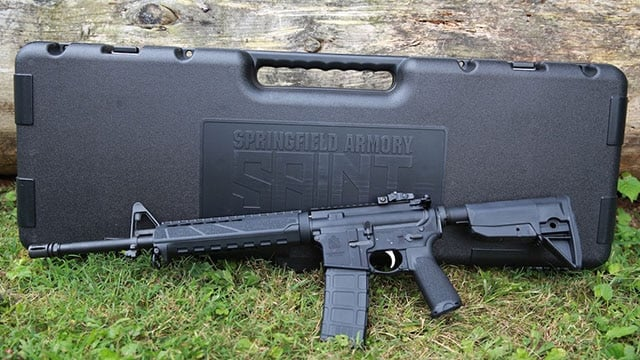 The rifle ships in a nice hard, plastic carrying case perfect for toting to the range. (Photo: Jacki Billings)