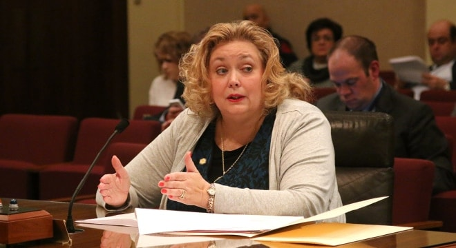 State Sen. Carol Blood said the proposed fee increase would be the first since they were introduced more than 25 years ago. (Photo: Nebraska Legislature)