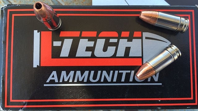 Full Stop, the new 9mm frangible ammo from L-Tech Enterprises. (Photo: Team HB)