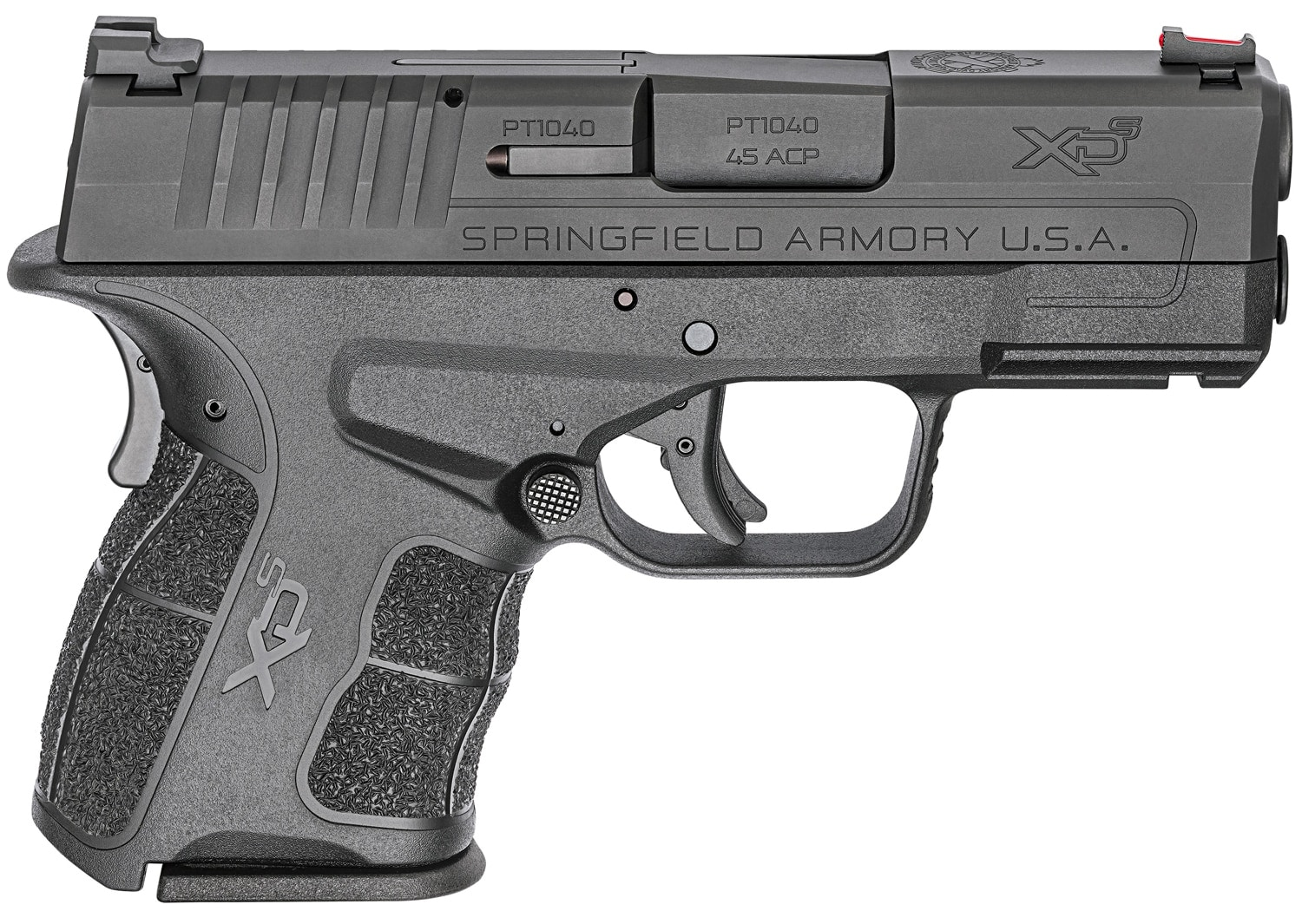 The Springfield XD-S Mod.2 pistol chambered in .45 ACP. (Photo: Springfield Armory)