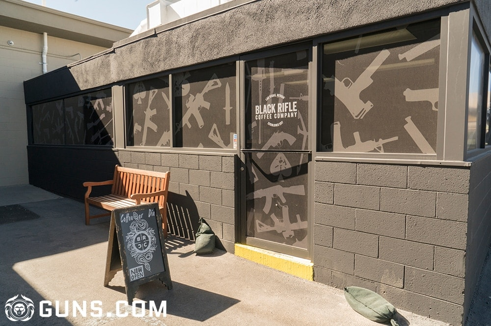 The Black Rifle Coffee Company flagship store is located just outside the front door to Battlefield Vegas in Las Vegas, Nevada. (Photos: Ben Philippi/Guns.com)