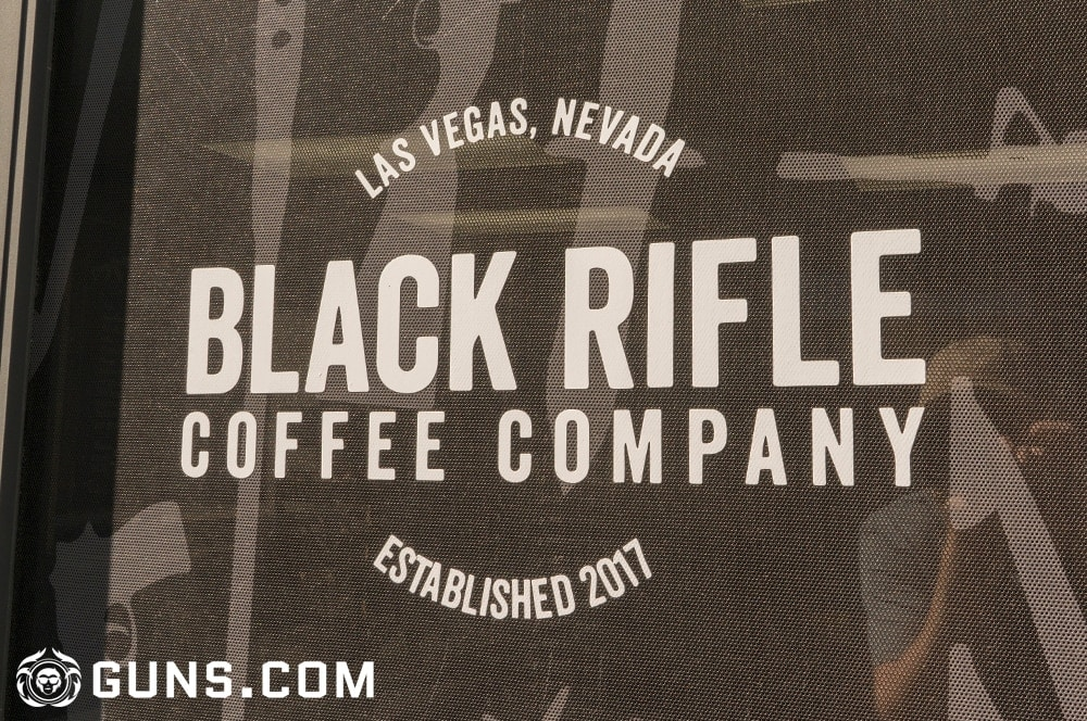 The Black Rifle Coffee Company flagship store located just outside the front door to Battlefield Vegas in Las Vegas, Nevada. (Photos: Ben Philippi/Guns.com)