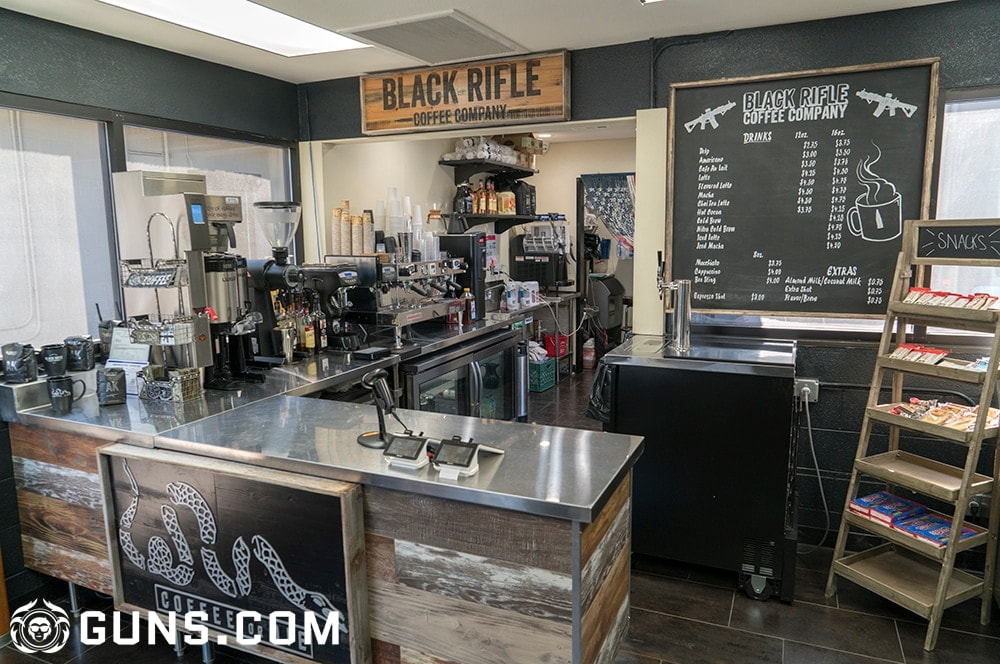 The interior of The Black Rifle Coffee Company's flagship store in Las Vegas, Nevada. (Photos: Ben Philippi/Guns.com)