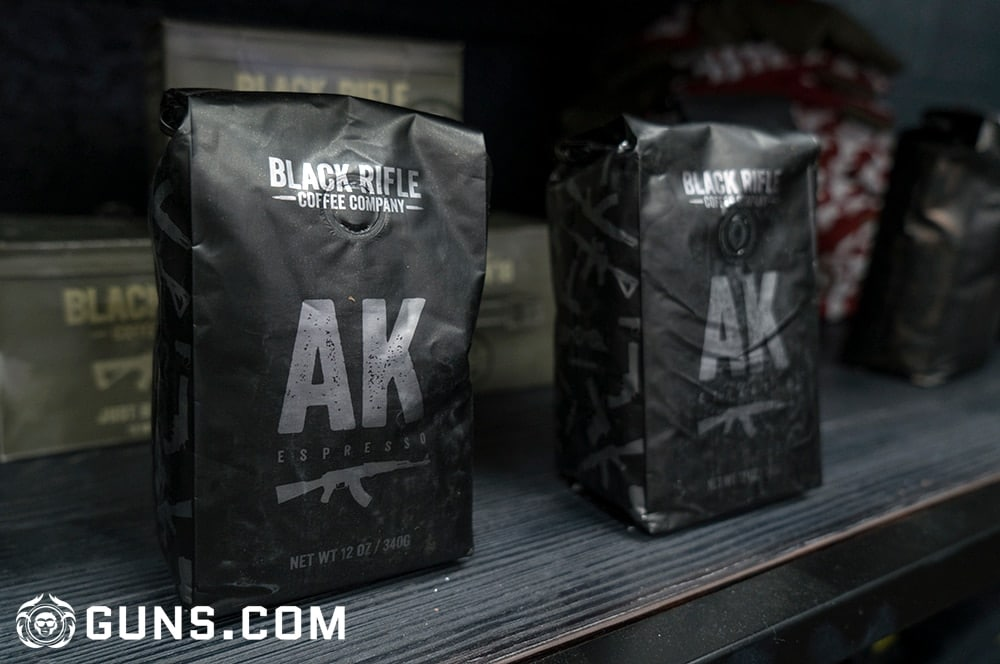 A variety of coffee blends available at the Black Rifle Coffee Company's flagship store in Las Vegas, Nevada. (Photos: Ben Philippi/Guns.com)