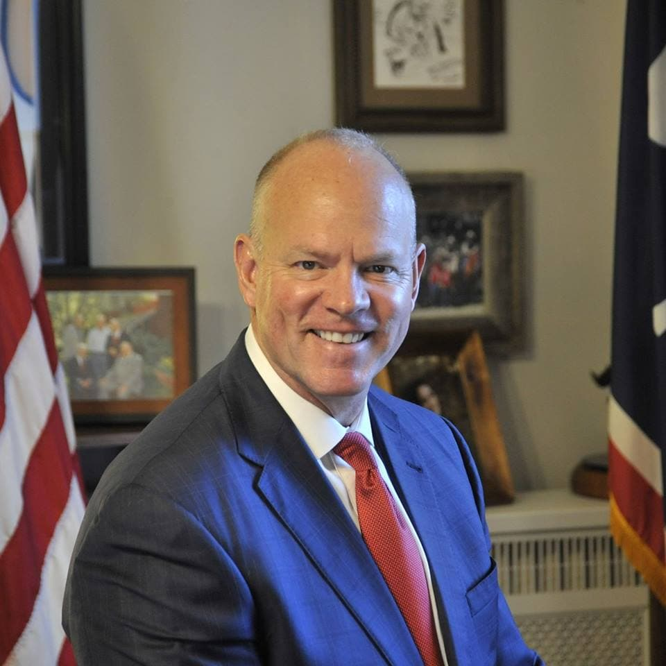 Wyoming Gov. Matt Mead said he hopes more gun makers will follow Weatherby and MagPul to his state. (Photo: Gov. Matt Mead/Facebook)