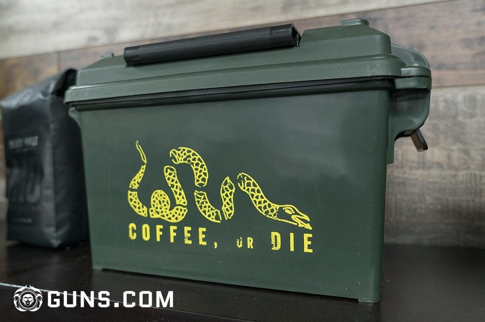Coffee or die. The Black Rifle Coffee Company's flagship store in Las Vegas, Nevada. (Photos: Ben Philippi/Guns.com)