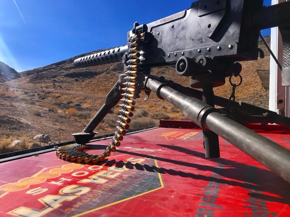 Shoot Las Vegas offers customers the chance to shoot an array of famous firearms. (Photo: Shoot Las Vegas/Facebook)
