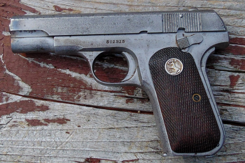 The Colt 1903 pistol. (Photo: David LaPell)