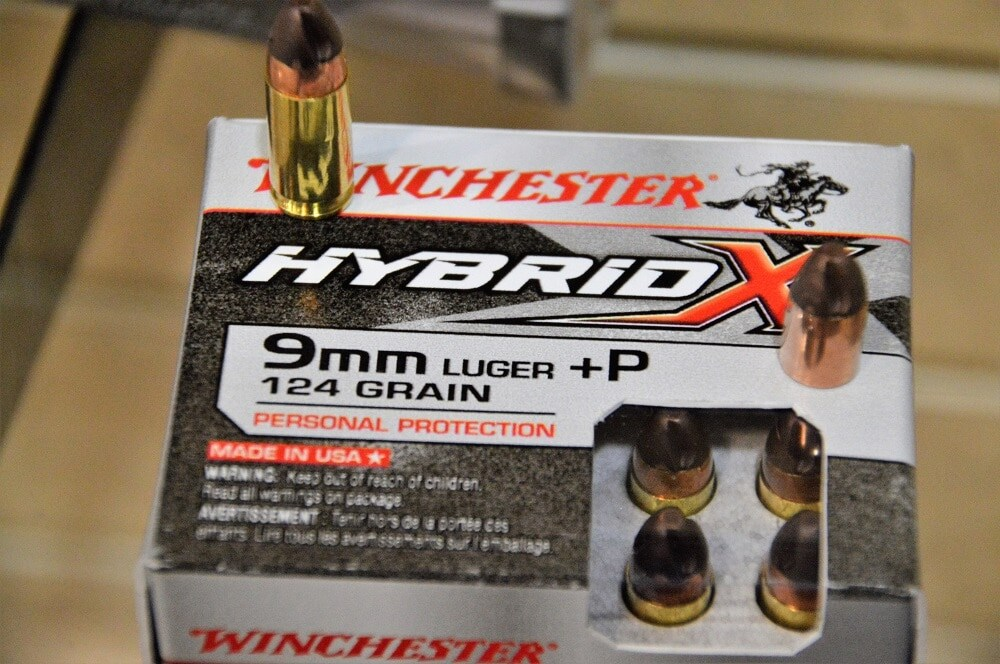 "Winchester says the ""Hybrid-X redefines personal protection."" (Photos: Chris Eger/Guns.com)"