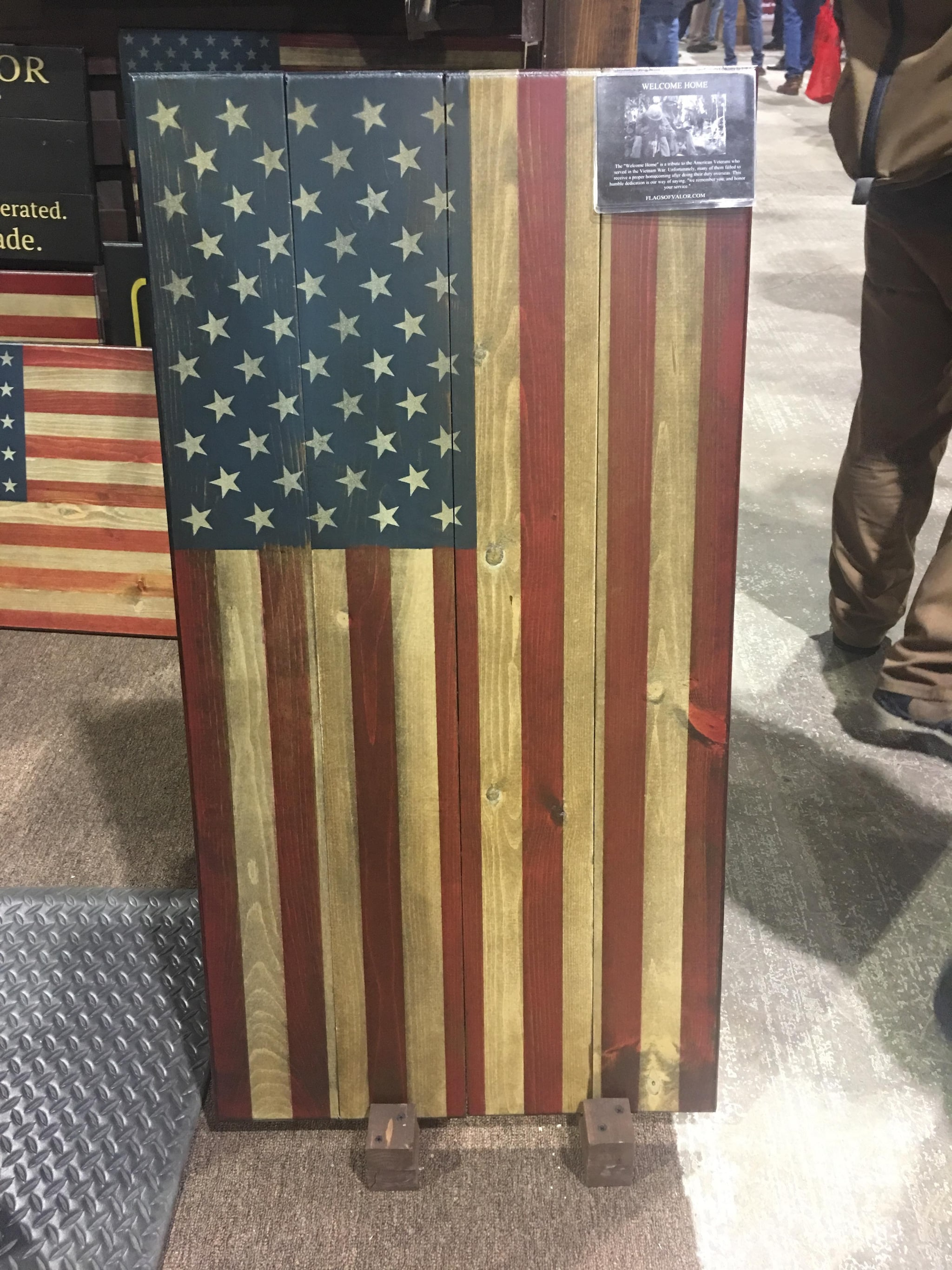"The ""Welcome Home"" on display at the 2018 Great American Outdoor Show. (Photo: Christen Smith/Guns.com)"