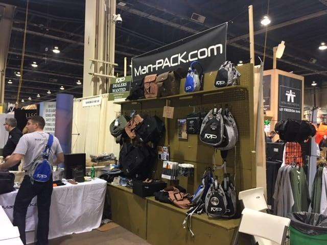 Man-PACK Spitfire Concealed Carry Bag Sling NEW