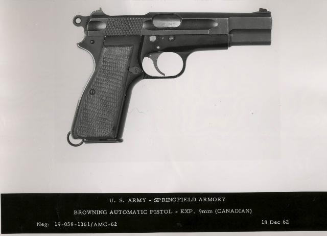One of the lightweight High Power prototypes created after World War II for testing by the U.S. Army (Photo: Springfield Armory Museum)