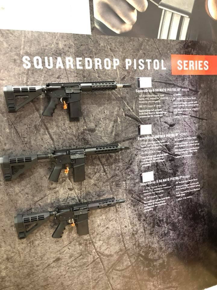 New XM-15 SquareDrop pistols now shipping (PHOTOS) 2