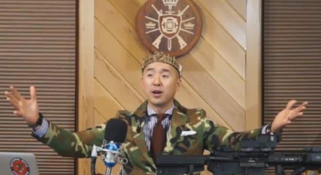 Rev. Sean Moon, of Rod of Iron Ministries and the World Peace and Unification Sanctuary Church, is planning a blessing event this week in which AR-15s play a part. (Photo: Rod of Iron)