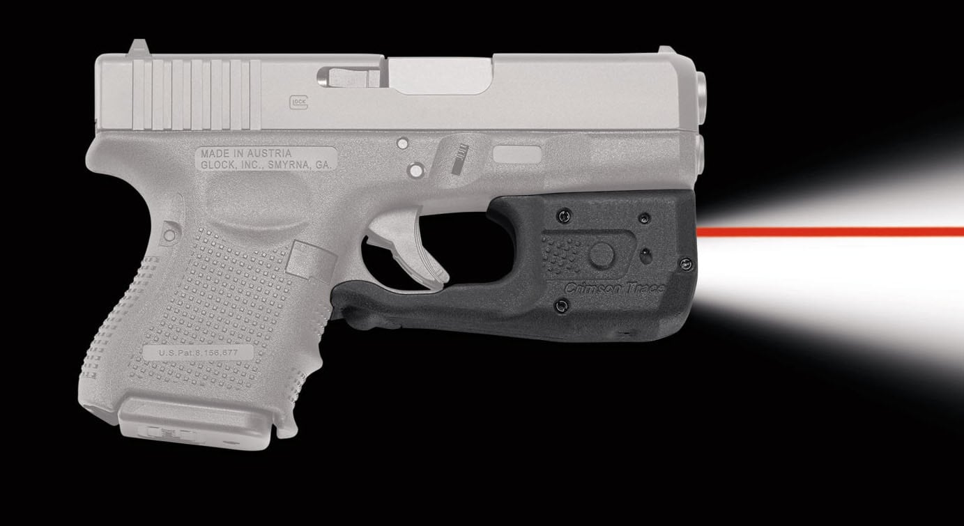 The LaserGuard Pro is available with either a red or green laser. (Photo: Crimson Trace)