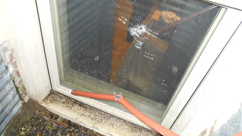 The homeowner fired through his window at the suspect on Feb. 19. (Photo: Pierce Sheriff's Office)