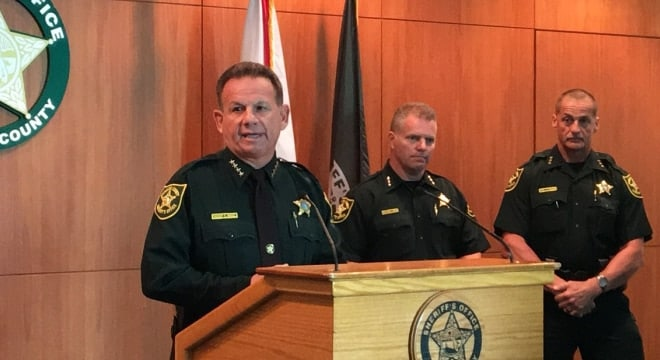 Broward County Sheriff Scott Israel welcomed an offer to have Florida state police help guard the entrances and exits to the school after one of his deputies was found asleep on the job Tuesday. (Photo: BCSO)