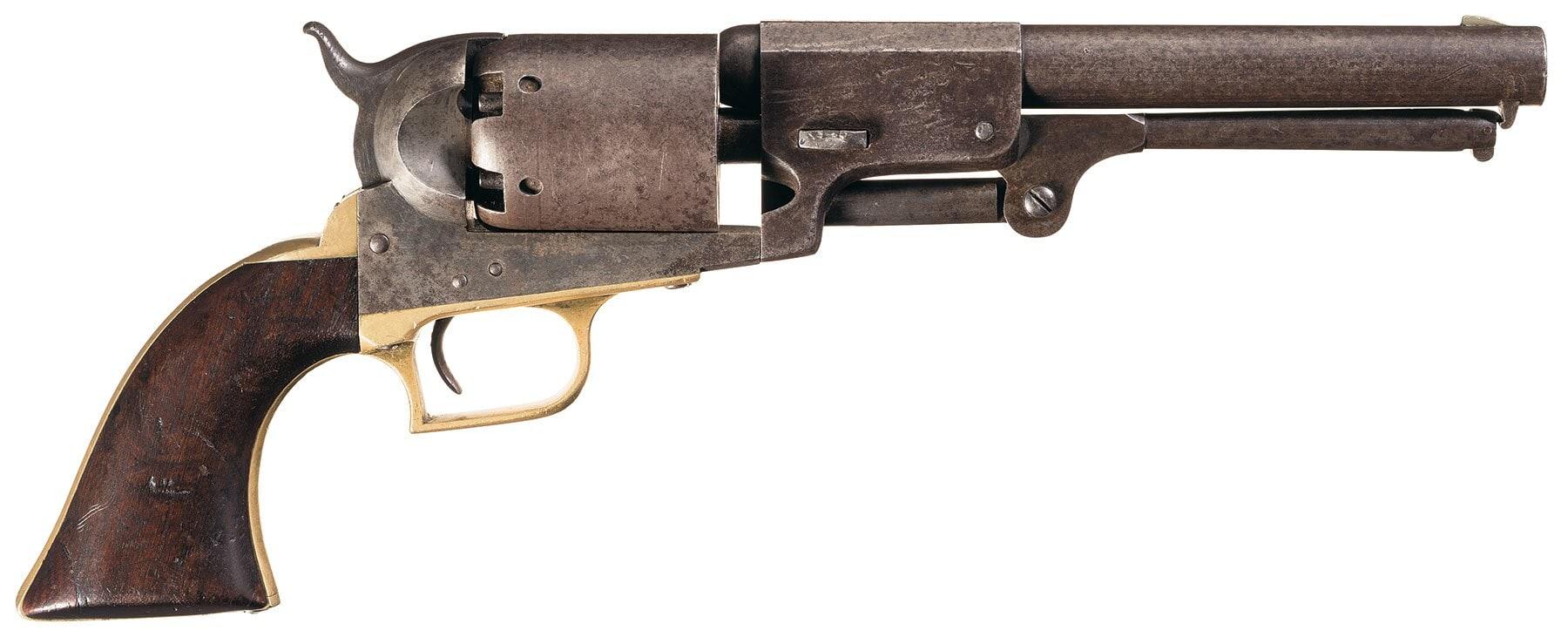 "Slightly smaller than the guns it was to replace, the Fluck sported a ""puny"" 7.5-inch barrel."