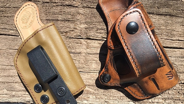 Gear Review: What's avant garde in holsters? Leather