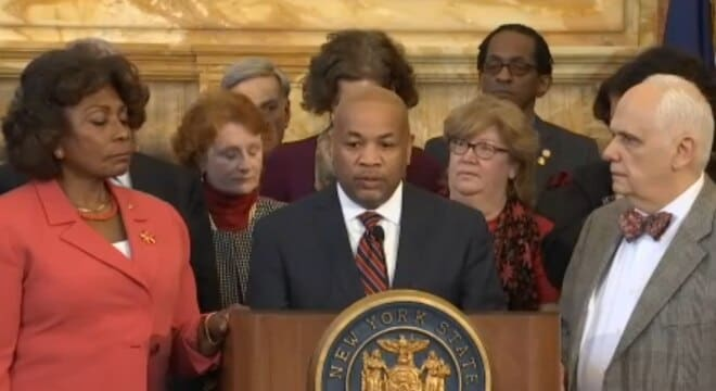 """Assembly Speaker Carl E. Heastie, D-Bronx, said the bills are the next step in """"efforts to curb gun violence."""" (Photo: NY Assembly)"""
