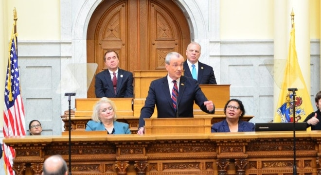 Gov. Phil Murphy's first budget, announced this week, includes $1.6 billion in tax increases, some of which are aimed at those looking to buy guns. (Photo: Gov. Murphy's Office)