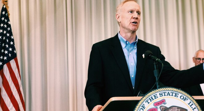 Gov. Bruce Rauner has 60 days to either approve or reject the bill or let it pass into law without his signature, but has been coy on his intentions. (Photo: Rauner's office)