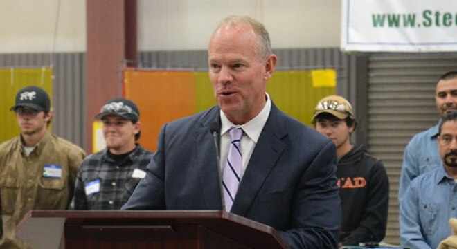 Wyoming's Republican Gov. Matt Mead decided not to veto a pending Stand Your Ground bill, but rather to allow the measure to become law without his signature. (Photo: Wyoming Governor's office)