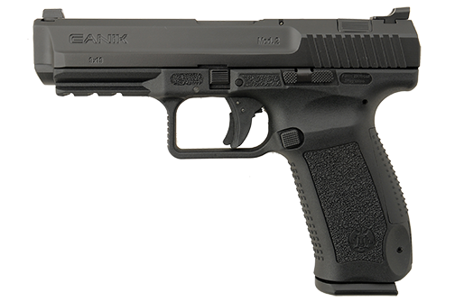 The gun comes in either FDE or black, pictured above. (Photo: Century Arms)