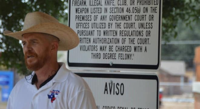 Texas court sides with open carry advocate in courthouse lawsuit