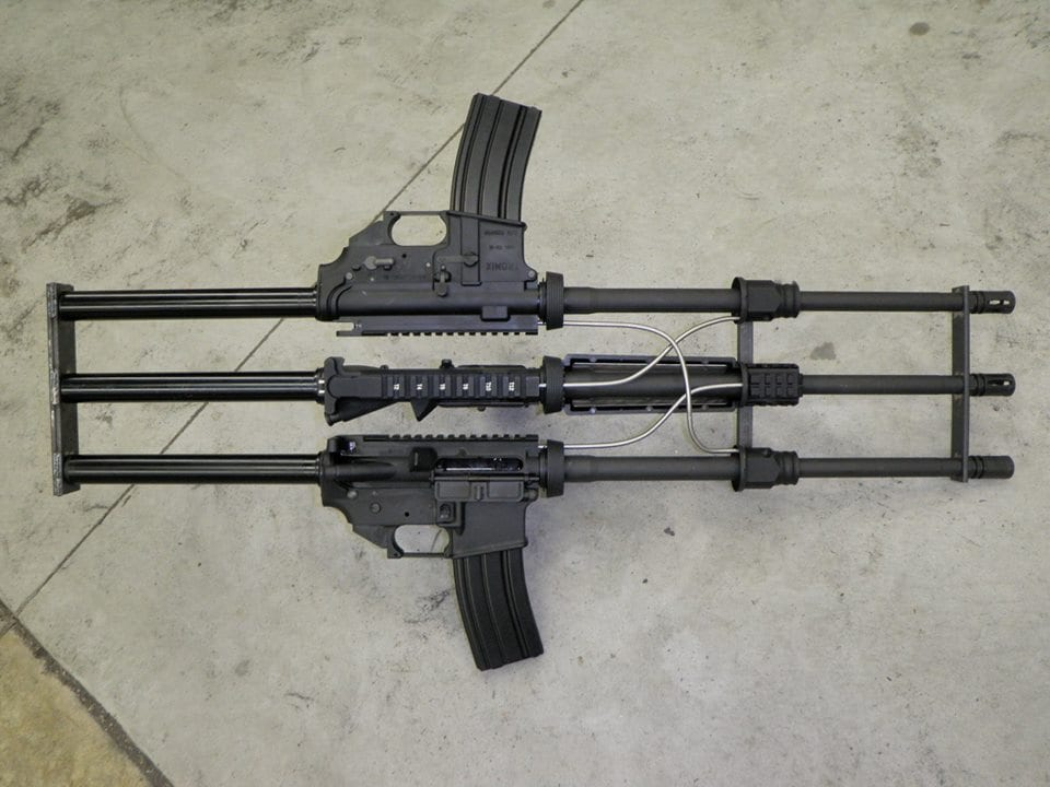 And you thought that your AR was overgassed! (Photos: Tromix)